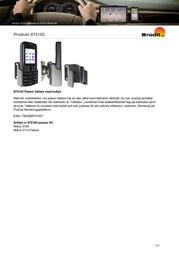Brodit Passive Holder,Tilt Swivel 875162 Leaflet
