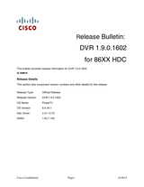 Cisco Cisco Explorer Set-top Software Version 2.1 Release Notes