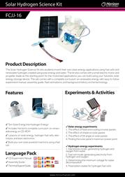 Horizon FCJJ-16 Leaflet