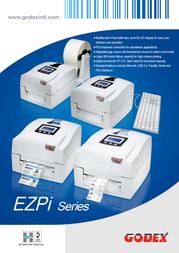 Godex EZPi-1200 GP-EZPI-1200 Leaflet