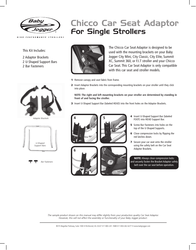Baby Jogger Car Seat Leaflet