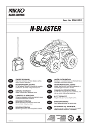 NIKKO Model car with remote control (35122) 35122 Data Sheet