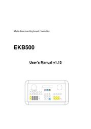 EverFocus EKB500 User Manual