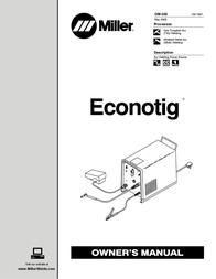Mamiya Econotig User Manual