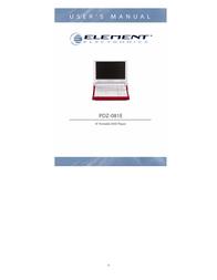 ELEMENT Electronics PDZ-081E User Manual