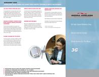 Sierra Wireless AirCard 850 PC card 91-009-043001B Leaflet