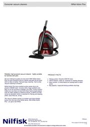 Nilfisk Action Plus 44000101 User Manual