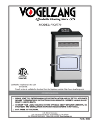 Vogelzang International VG5770 オーナーマニュアル