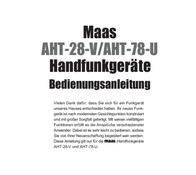 Maas Elektronik MAAS AMATEURFUNKGERÄT AHT-78-U UHF 1284 User Manual