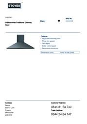 Stoves 1100TRC 444445448 Leaflet