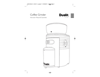 Dualit Coffee Grinder IB-CCG2-A User Manual