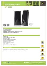 K-mex SP-O300 Leaflet