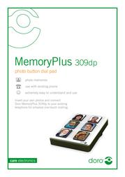 Doro MemoryPlus 309dp 8080301 Leaflet