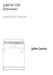 John Lewis JLBIDW 1201 User Manual