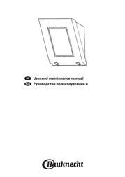 Bauknecht DWER 3750 IN User Manual