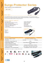 OPTI-UPS MG2T / MG3T Leaflet