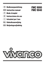 Vivanco FMC 9040 FMC 9040, FM 863MH User Manual