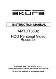 Akura AMTDT3502 User Manual