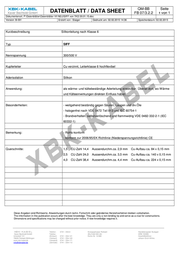 Reely SILIKONCABEL 1,5 QMM (1M RD 1M BL) 1275498 Data Sheet