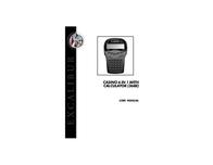 Excalibur 368e Leaflet