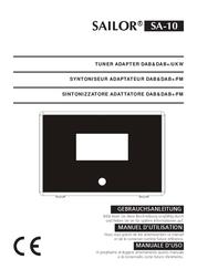 Sailor Bathroom Radio, Black SA-10 Data Sheet