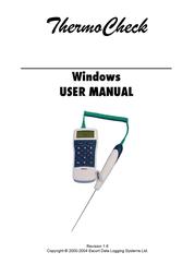 Piega Thermo Check for Windows 1.6 User Manual
