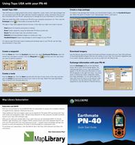 Delorme pn-40 Quick Setup Guide