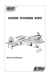 E-flite Edge 540QQ 280 BNF EFL6250 Data Sheet