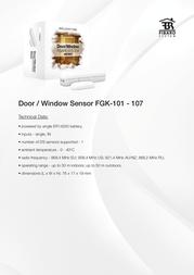 Fibaro FGK-106 Leaflet