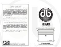 DB Link a8 2000.5 User Manual