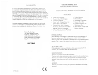 Victor Technology 1170 User Manual