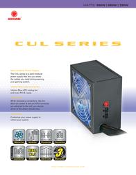 CoolMax CUL-750B Leaflet