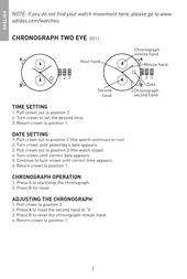 Adidas adh1163 Quick Setup Guide