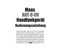 Maas Elektronik MAAS DUOBAND AMATEURFUNKGERÄT AHT-9-UV 1335 User Manual