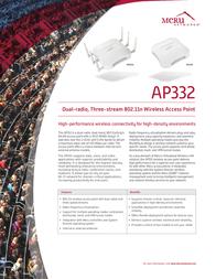 Meru Networks AP332e AP332E User Manual