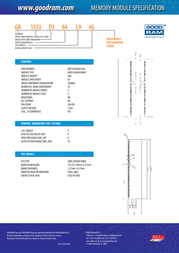 Goodram 4GB DDR3 GR1333D364L9/4G Leaflet