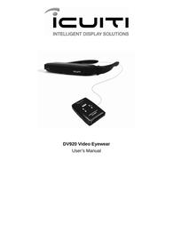 Vuzix dv920 User Guide