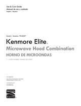 Kenmore Elite Microwave Hood