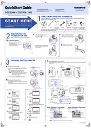 Olympus C-370 ZOOM Quick Setup Guide
