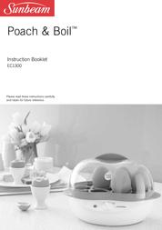 Sunbeam Egg Cooker EC1300 User Manual