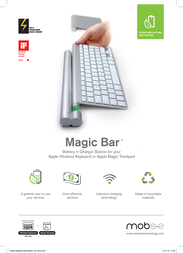 Mobee Technology Magic Bar 42TCEMO3212 Leaflet