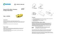 Freeplay LED Torch Mini Sherpa dynamo-powered 160 g Yellow-black A209-MS1-YL2-0000-FP Data Sheet