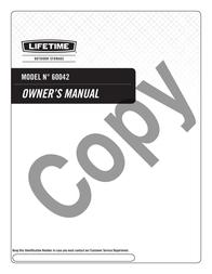 Lifetime Brands Inc. Outdoor Cart 60042 User Manual