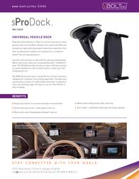 iBOLT.co sProDock IBU-33402 Leaflet