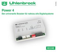 Uhlenbrock 63240 Digital booster Power 4 63240 Data Sheet