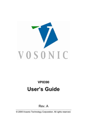 Vosonic VP8390 User Manual