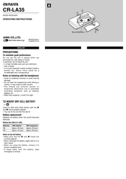 Aiwa CR-LA35 Leaflet