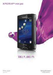 T-Mobile SonyEricsson Xperia Mini Pro 99918498 User Manual