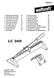 Wolfcraft LC 300 用户手册