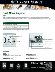 Channel Vision A0350 Leaflet